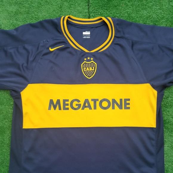 6e3ce483ad8 2007 Boca Juniors soccer jersey Riquelme. M 5b52c1f69264af4aae508948